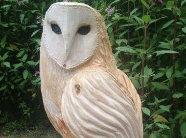 Tom batchelor woodview fencing and carving bucks art weeks